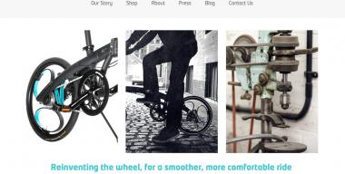 Loopwheels website - screenshot